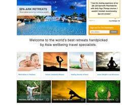 #20 para Design a Wordpress Template for Travel Website por clickinn