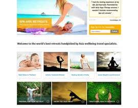 #32 para Design a Wordpress Template for Travel Website por clickinn