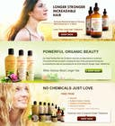 Banner Ad Design for 3 Organic Hair Care Website için Graphic Design12 No.lu Yarışma Girdisi