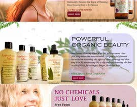 #18 para Banner Ad Design for 3 Organic Hair Care Website por IMSAAAD