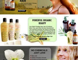 #20 para Banner Ad Design for 3 Organic Hair Care Website por sdinfoways