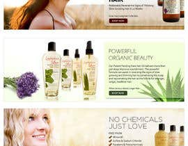 #6 para Banner Ad Design for 3 Organic Hair Care Website por su1d