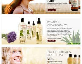 #27 para Banner Ad Design for 3 Organic Hair Care Website por su1d