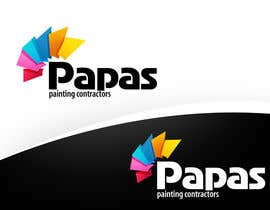nº 431 pour Logo Design for Papas Painting Contractors par pinky