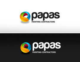 nº 325 pour Logo Design for Papas Painting Contractors par pinky