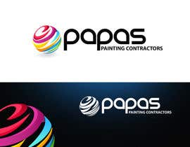 nº 432 pour Logo Design for Papas Painting Contractors par pinky