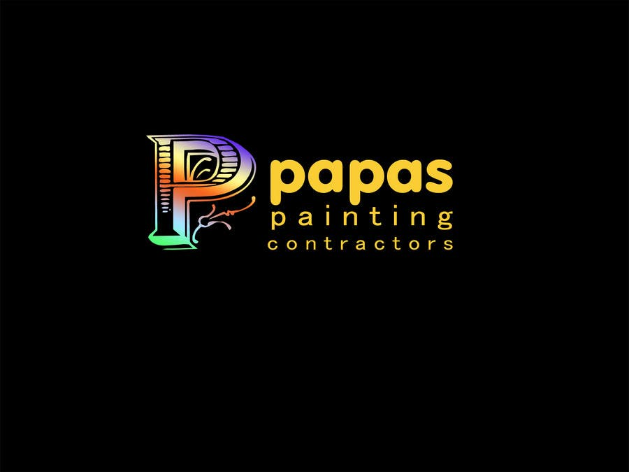Contest Entry #                                        569                                      for                                         Logo Design for Papas Painting Contractors