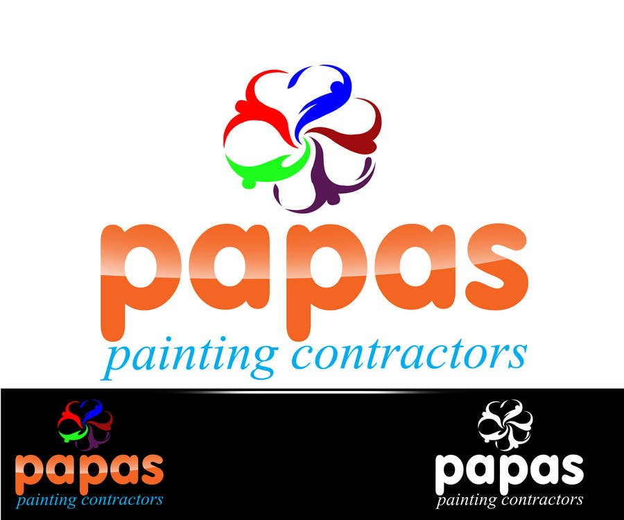 Contest Entry #                                        156                                      for                                         Logo Design for Papas Painting Contractors