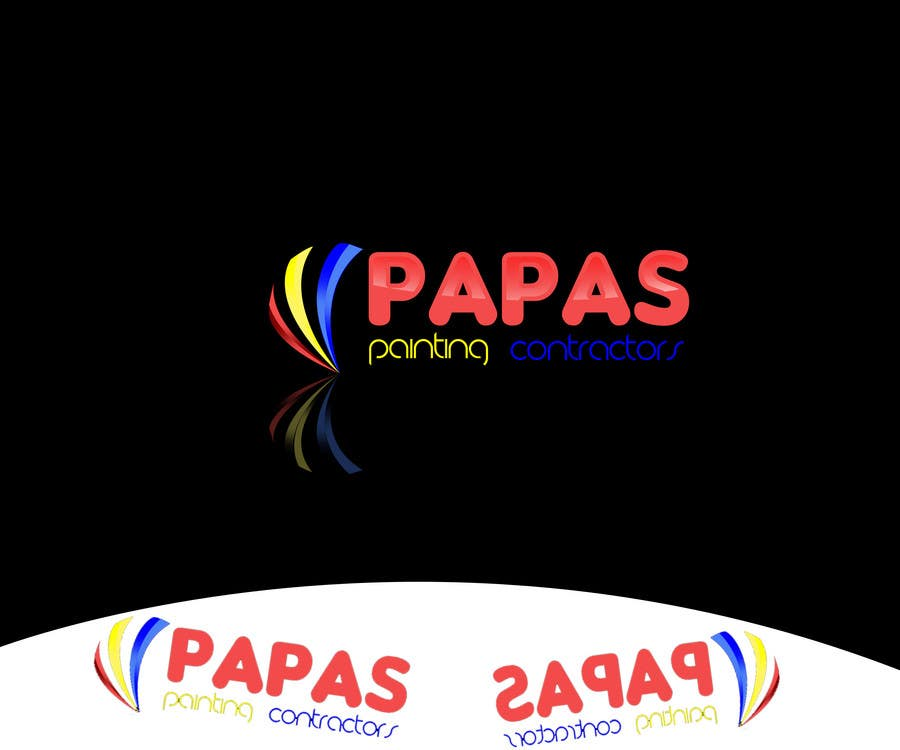 Contest Entry #                                        532                                      for                                         Logo Design for Papas Painting Contractors