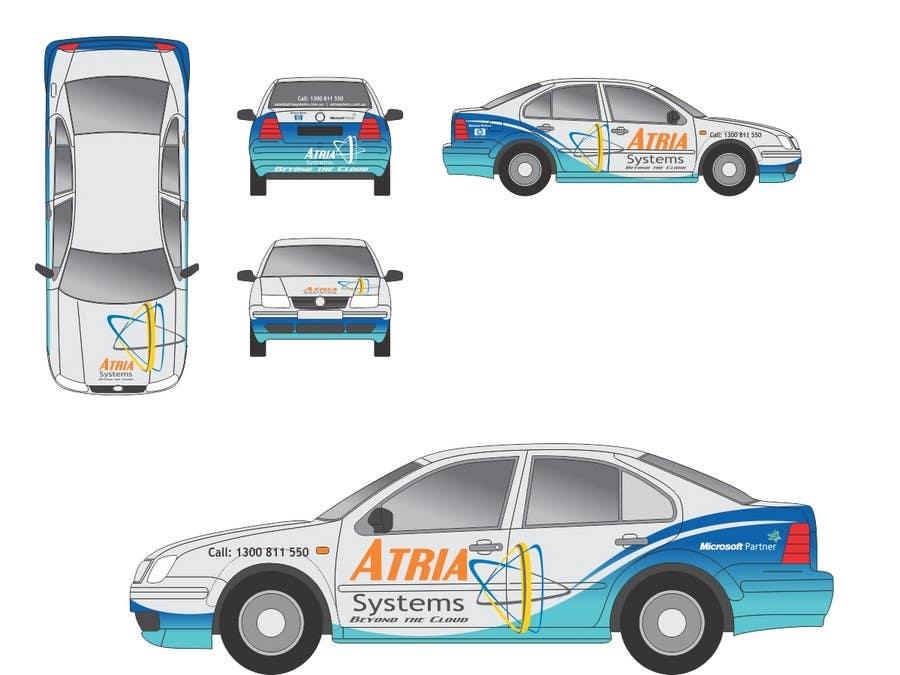 Конкурсная заявка №2 для Vehicle Wrap design for Atria Systems