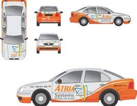 nº 8 pour Vehicle Wrap design for Atria Systems par guppyfish