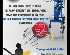 #6 untuk Advertising Poster for Cricket Batting Game Center oleh iamavinashshetty