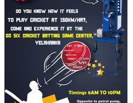 #7 untuk Advertising Poster for Cricket Batting Game Center oleh iamavinashshetty