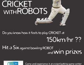 #3 untuk Advertising Poster for Cricket Batting Game Center oleh dsavio
