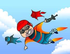 setyawanalfabet tarafından Draw caricature of a flying man ADVENTURE TIME style için no 10