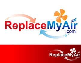 #143 untuk Logo Design for Replace My Air .com oleh prasanthmangad