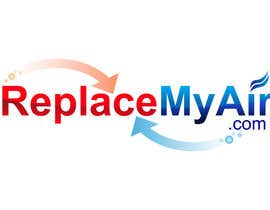 #142 for Logo Design for Replace My Air .com by prasanthmangad