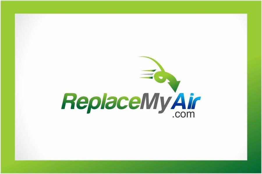 Penyertaan Peraduan #168 untuk Logo Design for Replace My Air .com