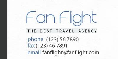Inscrição nº                                         4                                      do Concurso para                                         Design a Logo for Fan Flight