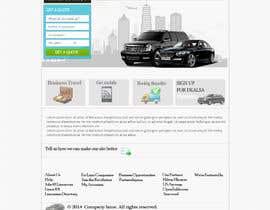 web92 tarafından Design a Website Mockup for a Limo Company için no 28