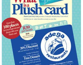 #47 untuk Magazine Advert redesign for Plush Card (Pty) Ltd oleh witelion