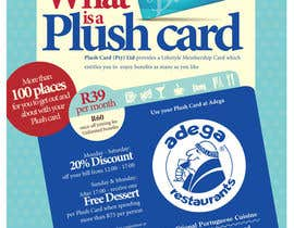 #56 untuk Magazine Advert redesign for Plush Card (Pty) Ltd oleh witelion