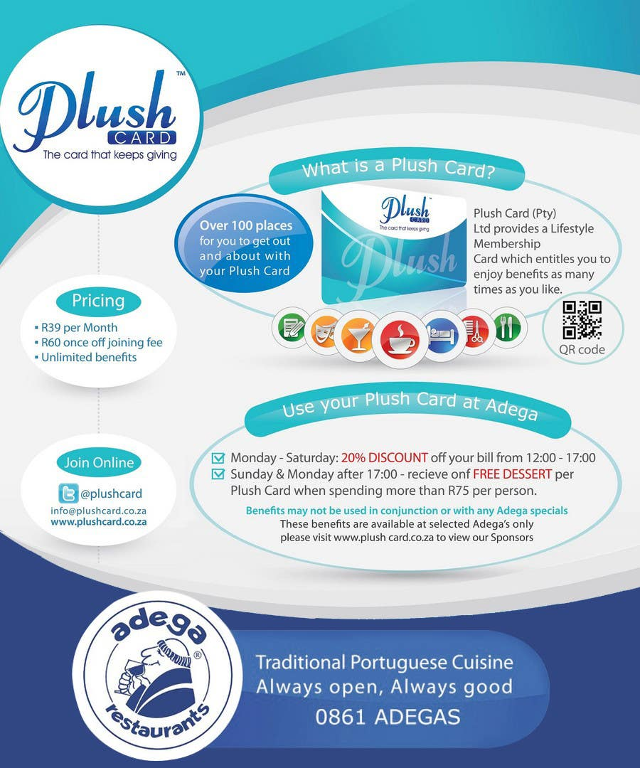 Contest Entry #                                        34                                      for                                         Magazine Advert redesign for Plush Card (Pty) Ltd