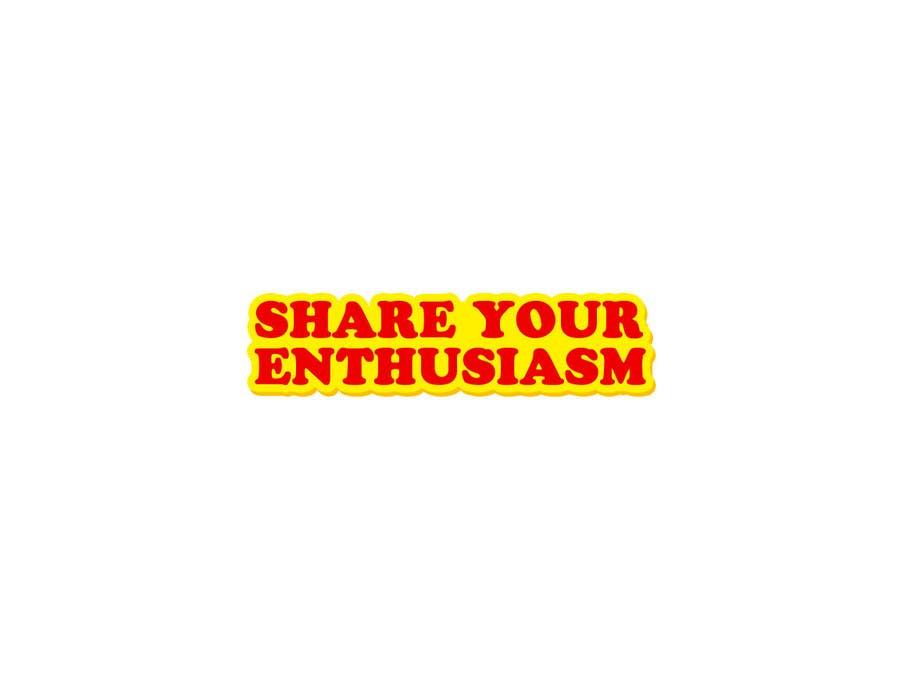 Proposition n°                                        220                                      du concours                                         Logo Design for Share your enthusiasm