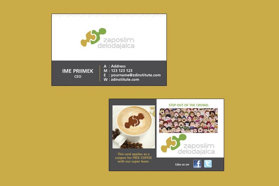 Bài tham dự cuộc thi #70 cho Business Card Design for ZD institute