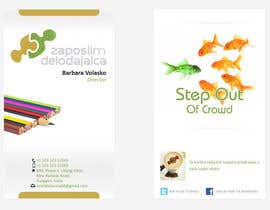 #79 para Business Card Design for ZD institute por drishtibhardwaj