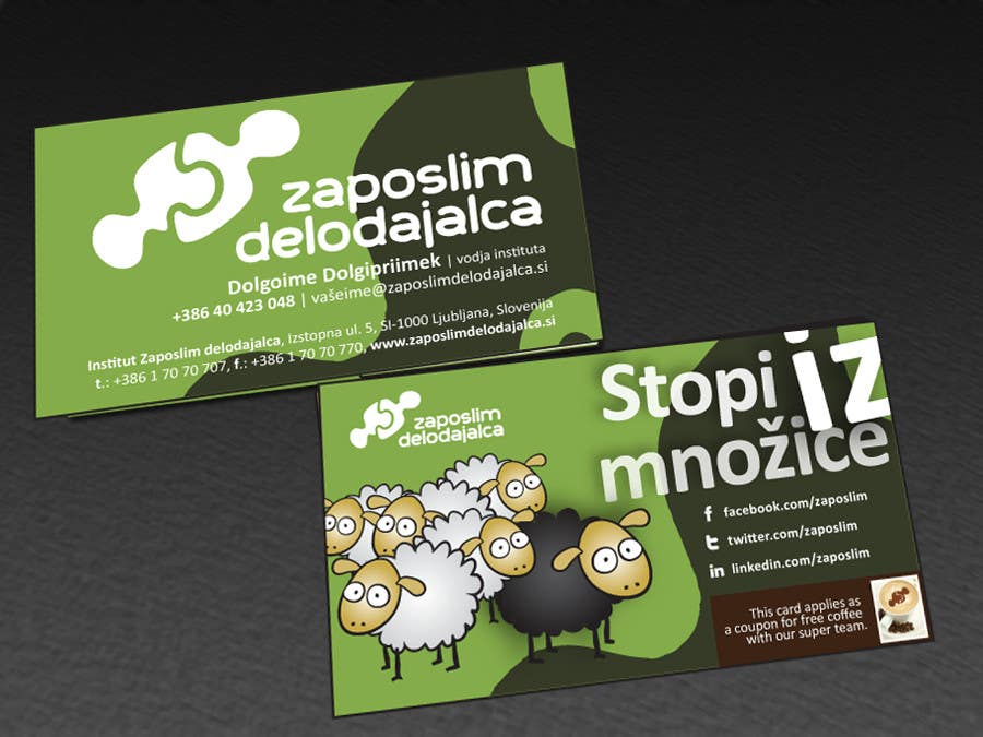 Contest Entry #51 for Business Card Design for ZD institute