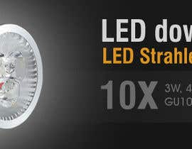 #56 pentru Banner Ad Design for LED shop de către dreamsweb