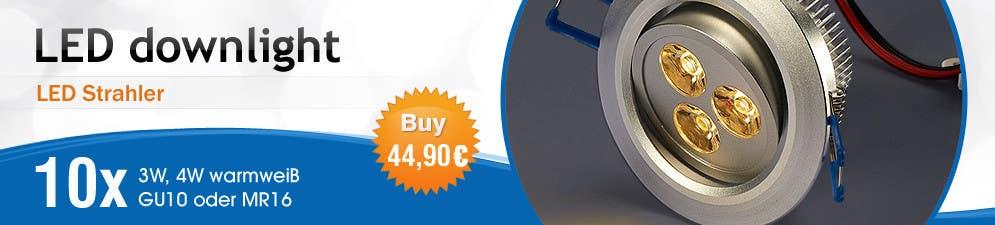 Penyertaan Peraduan #45 untuk Banner Ad Design for LED shop
