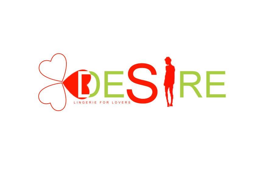 Participación en el concurso Nro.187 para Logo Design for Desire Lingerie for Lovers