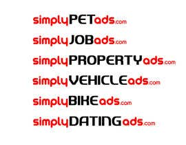 #11 para Logo Design for simplyTHEMEWORDads.com (THEMEWORDS: PET, JOB, PROPERTY, BIKE, VEHICLE, DATING) por CristianLuca