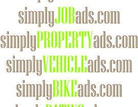Nro 72 kilpailuun Logo Design for simplyTHEMEWORDads.com (THEMEWORDS: PET, JOB, PROPERTY, BIKE, VEHICLE, DATING) käyttäjältä CrazzyChris