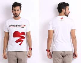 #17 para Design a T-Shirt for Contagious Luv!!! por DesignerCS