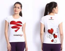 #51 para Design a T-Shirt for Contagious Luv!!! por DesignerCS