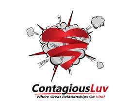 #64 para Design a T-Shirt for Contagious Luv!!! por creativheads