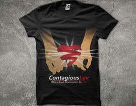 #68 para Design a T-Shirt for Contagious Luv!!! por mjbheda