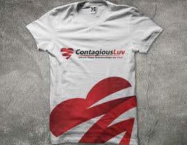 #70 para Design a T-Shirt for Contagious Luv!!! por mjbheda