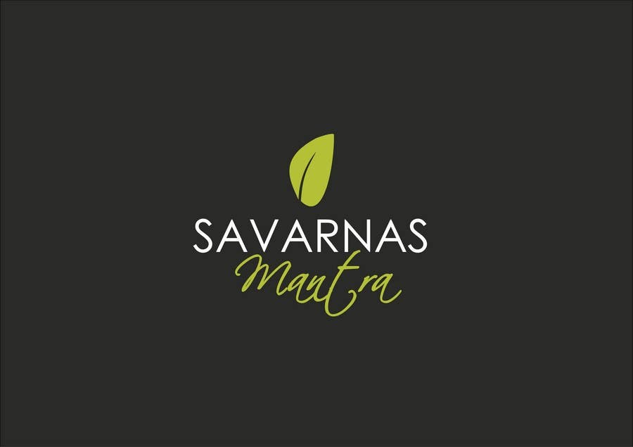 #185 for Logo Design for Skin Care Products Line  for Savarna by bogdansibiescu