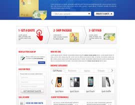 #114 para Website Design for American Buy Back! Buying Electronics Antiques Gold and valuables Online w/Cash por dragnoir