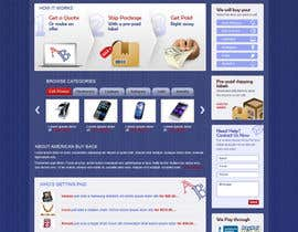 #111 cho Website Design for American Buy Back! Buying Electronics Antiques Gold and valuables Online w/Cash bởi brnbhttchry