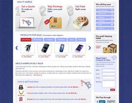 brnbhttchry tarafından Website Design for American Buy Back! Buying Electronics Antiques Gold and valuables Online w/Cash için no 55
