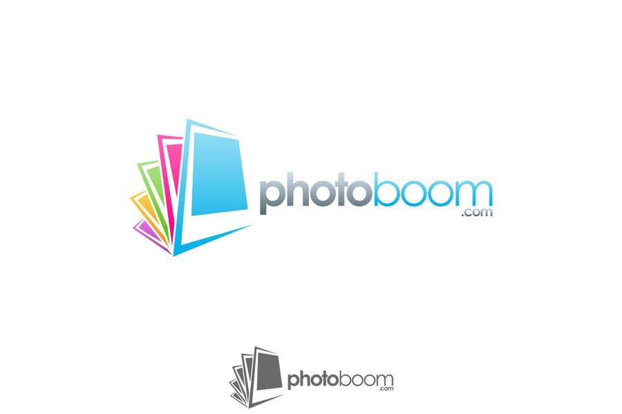 Logo Design for Photoboom.com için 277 numaralı Yarışma Girdisi