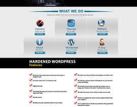 nº 17 pour Design a Website Mockup for Hardenedwp.com par webmastersud