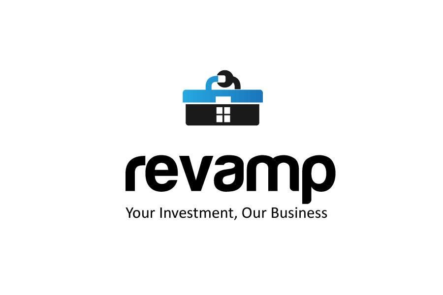 Logo Design for Revamp için 77 numaralı Yarışma Girdisi