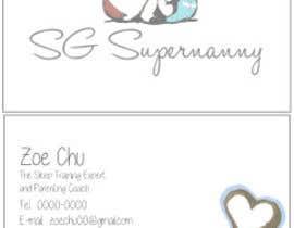 edenboulanger tarafından Design some Logo and Business Cards for Baby Sleep Trainer and Parenting Coach için no 25