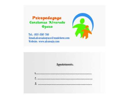 Конкурсная заявка №141 для Graphic Design for Constanza Alvarado Opazo